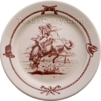 Sky Ranch Western Salad Plate Set of Four