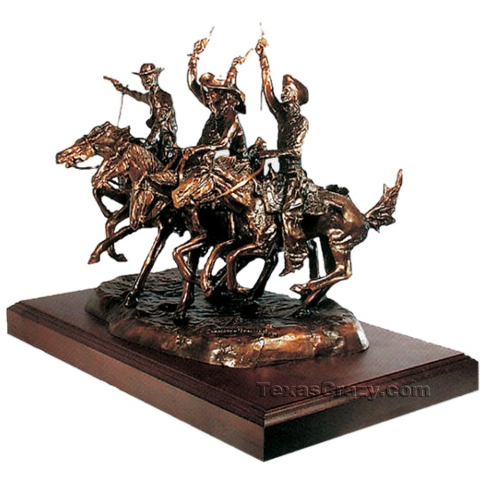 Buy Coming Through The Rye Remington Sculpture Western Bronze