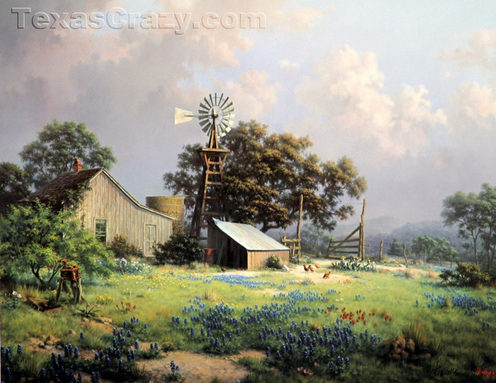 Buy Memorable Springtide Art Print Texas Artist Dalhart