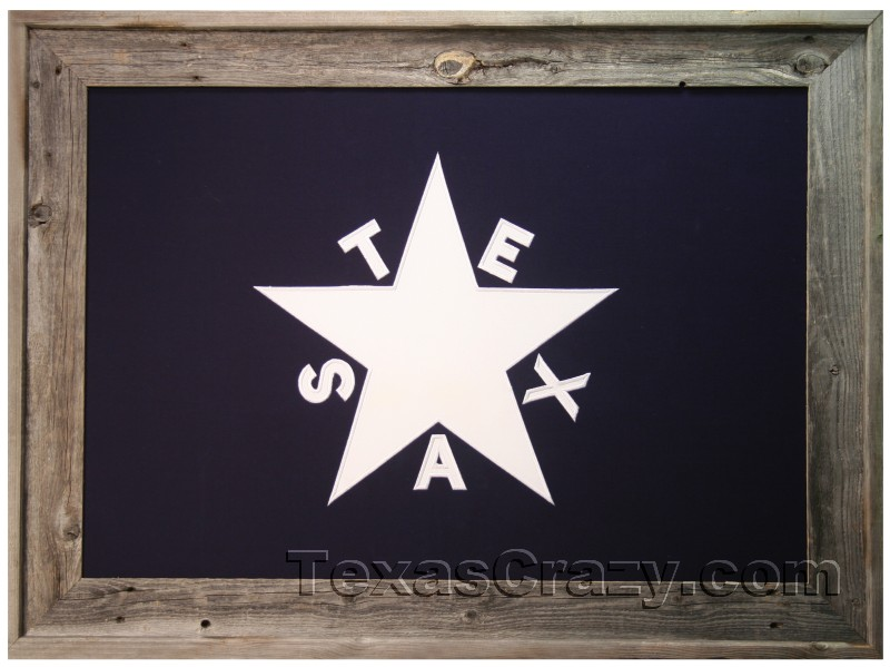 aaa8a6e1c98 Buy First Republic of Texas Flag Framed 2 x 3 or 3 x 5